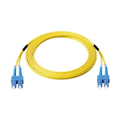 Link UFP966D26-05 Fiber Optic SC-SC Patch Cord OS2, Duplex Single-mode, (2.0 mm Jacket)/UPC-APC, Lengths 5 m.