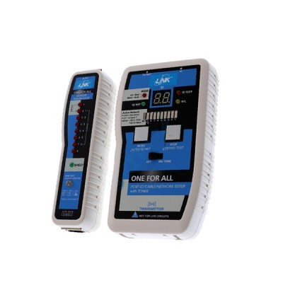 LINK US-8012 All-on-one NET Finder 25 & Tester (included 25 remote) For Coaxial (BNC Connector) and RJ-45