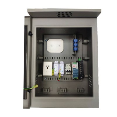 LINK UV-9012H Two Layer Door Outdoor Steel Cabinet (H68 x W48 x D26.8)