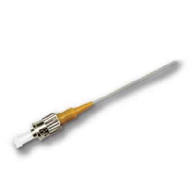 Link UFP940S01-01 ST Pigtail Fiber Optic, SM/OS2 Simplex, (900 μm Buffer)/UPC, Length 1 m.