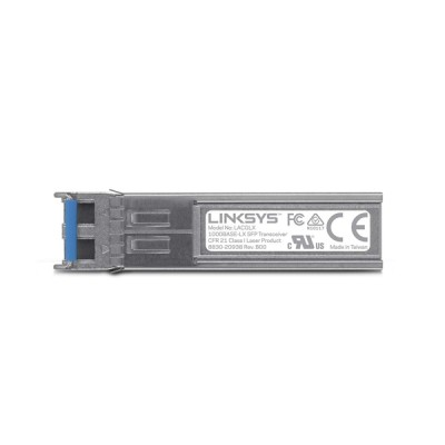 Linksys LACGLX SFP Transceiver Module, 1000base - LX, LC Connector, 1 Gbps up to 10 km. for SMF Optical Fiber