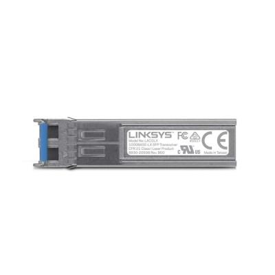 Linksys LACGLX 1000BASE-LX SFP Transceiver for Business, 1 Gigabit Ethernet Fiber Connectivity