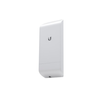Ubiquiti locoM5 (NanoStation locoM5) airMAX Indoor/Outdoor AP, Freq 5GHz 150+Mbps, Ant 13dBi 2x2 MIMO, Hi-Power 23dBm, 1-Port 10/100 Ethernet