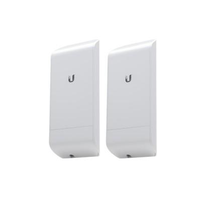 Ubiquiti locoM5-SET Point-to-point WiFi Link 2Km,, Freq 5GHz 150+Mbps, Ant 13dBi 2x2 MIMO, Hi-Power 23dBm, Configuration ready