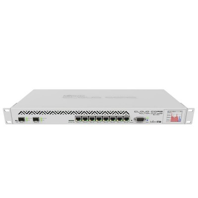 MikroTik CCR1036-8G-2S+ Cloud Core Router Industrial Grade 8-Port Gigabit Ethernet, 2xSFP+ cages, CPU 36 cores x 1.2GHz, RAM 4GB, RouterOS L6