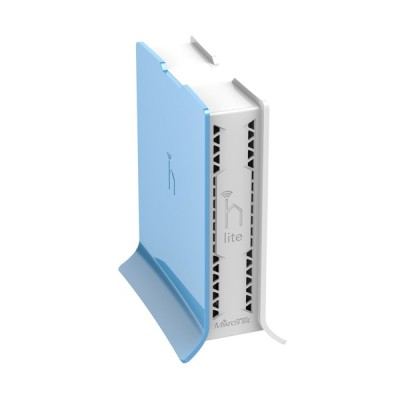 Mikrotik RB941-2nD-TC (hAP Lite) home Access Point 2.4GHz 802.11b/g/n, 4-Port LAN 10/100Mbps, Level 4 license, for in the Room