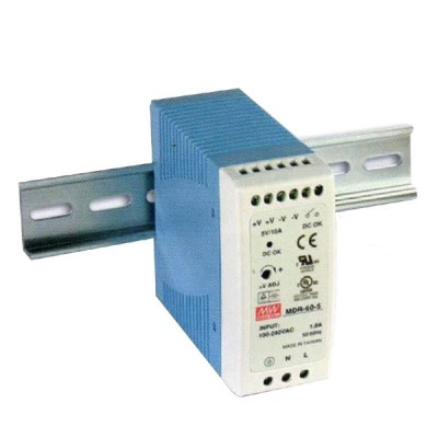 Link PS-9106 DC Power Supply 60 W. 48 V, Industrial DIN Rail (for Industiral PoE Switch)
