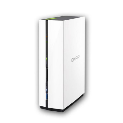 TS-128 : 1-Bay Network Attached NAS Storage Enclosure ,Dual-core processor for high performance
