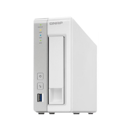 TS-131 : 1-Bay Personal Cloud NAS with DLNA, mobile apps and AirPlay support