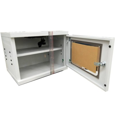 ATM RACK88 : WITH SHELF / FAN / CABLE กว้าง 40 x ลึก 30 x สูง 30 ซม. ตู้ Rack ขนาดเล็ก