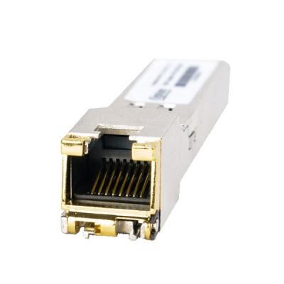 MikroTik S-RJ01 10/100/1000 Mbps RJ45 to SFP Copper Module,1.25Gbps