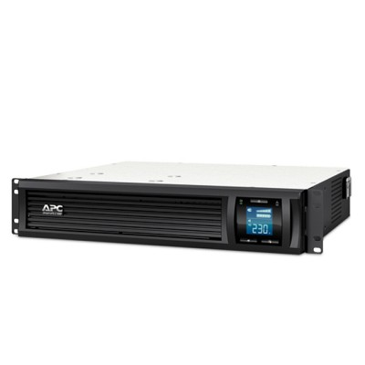 APC SMC1000I-2U Smart-UPS C 1000VA (600W) LCD 230V, Line Interactive with AVR, PowerChute Business Edition (PCBE)