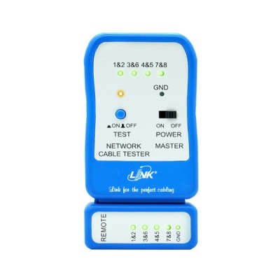 Link TX-1302 UTP Cable Testers, Quickly test by auto Scanning