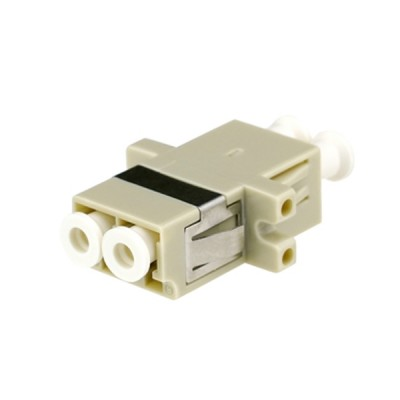 Link UF-0022D LC Duplex Fiber Optic Adapter, Multi-mode Coupling, PB Sleeve, PC Housing