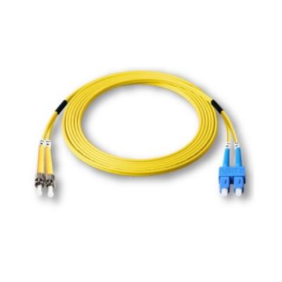 Link UFP946D31-05 Fiber Optic ST-SC Patch Cord OS2, Duplex Single-mode, (3.0 mm Jacket)/UPC-UPC, Lengths 5 m.