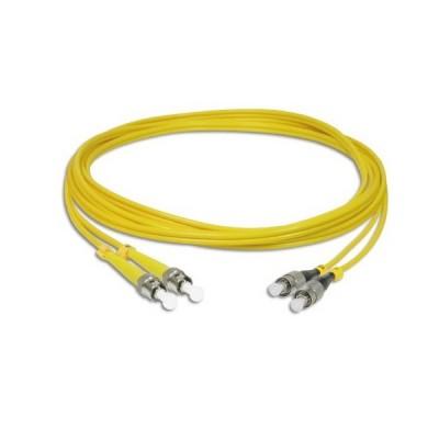 Link UFP948D31-05 Fiber Optic ST-FC Patch Cord OS2, Duplex Single-mode, (3.0 mm Jacket)/UPC-UPC, Lengths 5 m.