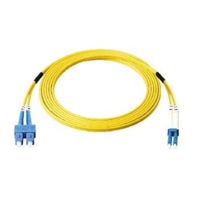 Link UFP962D31-03 Fiber Optic SC-LC Patch Cord 9/125 μm (OS2), Duplex Single-mode, (3.0 mm Jacket)/UPC-UPC, Lengths 3 m.