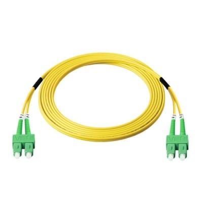 Link UFP966D32-03 Fiber Optic SC-SC Patch Cord OS2, Duplex Single-mode, (3.0 mm Jacket)/APC-APC, Lengths 3 m.