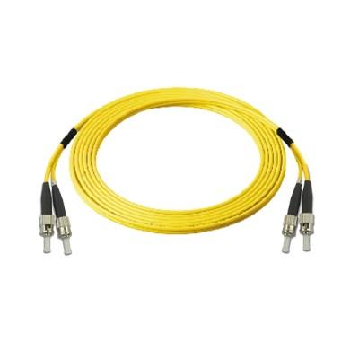 Link UFP988D32-03 Fiber Optic FC-FC Patch Cord OS2, Duplex 9/125 μm Single-mode, (3.0 mm Jacket)/APC-APC, Lengths 3 m.