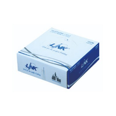Link UL-0054 FLAT Telephone 26 AWG 4C 100M.*/Easy Box