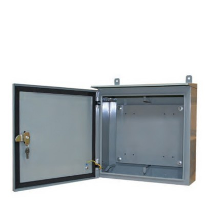 LINK UL-7061 Outdoor Steel Cabinet for 1x6 pos. BMF, 50-60 Pairs (H33 x W25 x D15 cm.)