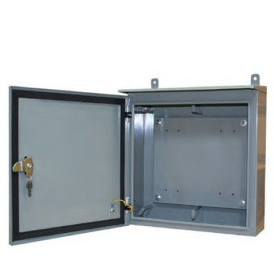 LINK UL-7112 Outdoor Steel Cabinet for 2x11 pos. BMF, 200-220 Pairs (H45 x W45 x D15 cm.)