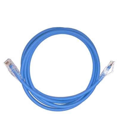 LINK US-5101LZ-4 LSZH RJ45 Patch Cord Cat6 UTP, Length 1M.,Blue