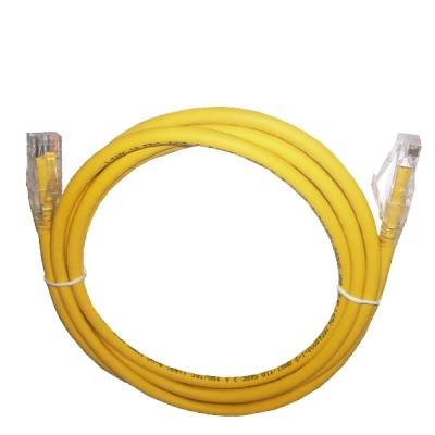 LINK US-5102LZ-5 LSZH RJ45 Patch Cord Cat6 UTP, Length 2M.,Yellow