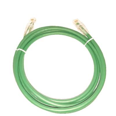 LINK US-5103LZ-3 LSZH RJ45 Patch Cord Cat6 UTP, Length 3M., Green