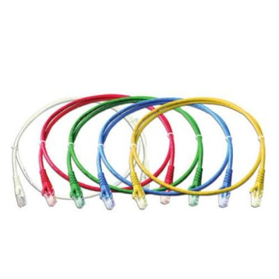 Link US-5115-X Patch Cord UTP CAT 6 RJ45 - RJ45, Length 15M. (สีของสาย X=1ขาว/2แดง/3เขียว/4ฟ้า/5เหลือง)