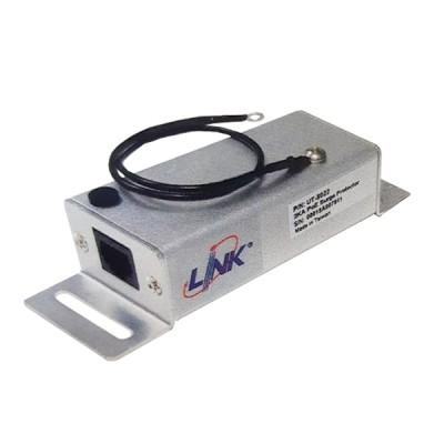 LINK UT-8022 Surge Protector , RJ45 Gigabit PoE 10/100/1000 Mbps (IEEE. 802.3af / 802.3at), 2 KA